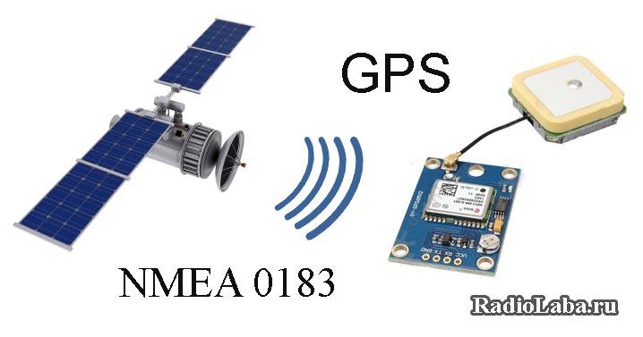 Подключение GPS модуля к микроконтроллеру