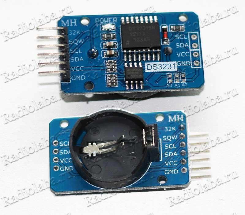 DS3231 внешний вид модуля
