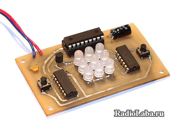 Крестики-нолики на микроконтроллере
