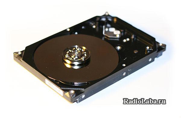 Подключение двигателя HDD к микроконтроллеру