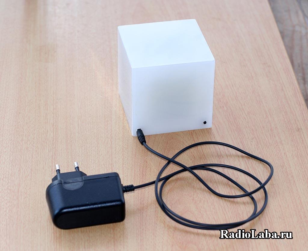 RGB Куб, внешний вид