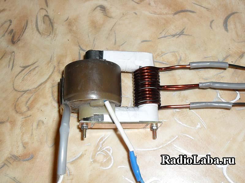 Строчный трансформатор