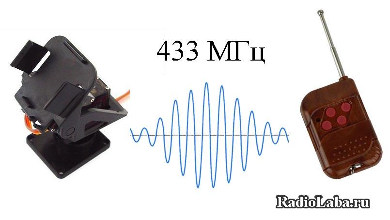 Радиоуправляемая поворотная платформа