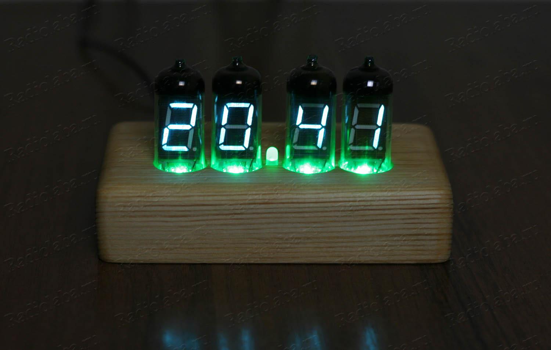 Часы на лампах ИВ-11