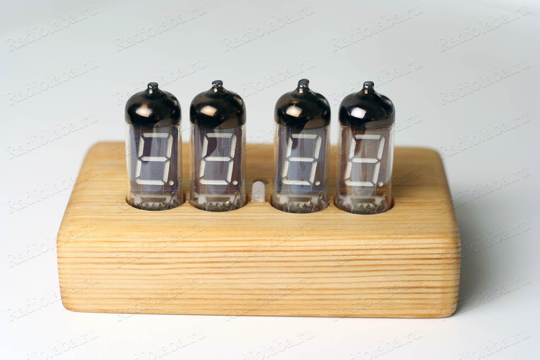 Часы на индикаторах ИВ-11 внешний вид