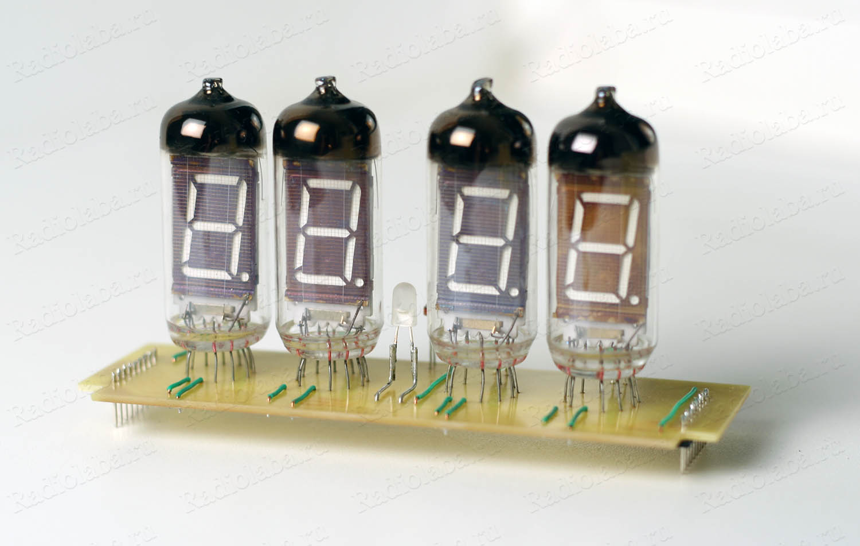Часы на ИВ-11 плата индикаторов