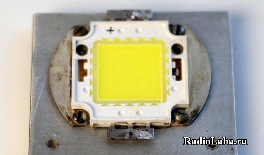 Светодиодная матрица 100Вт для стробоскопа